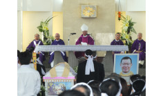 Bài giảng Thánh lễ An táng Cha Vinhsơn Nguyễn Xuân Minh