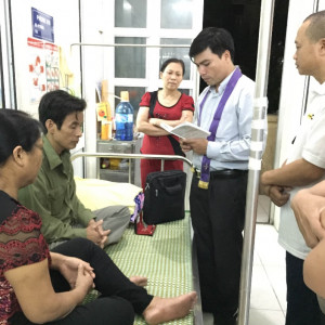Danh sách các tu sĩ, linh mục mục vụ tại các bệnh viện thuộc TGP TPHCM