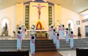 Giáo xứ Lam Sơn: Khai mạc Tháng Hoa