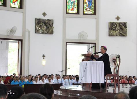 Giáo xứ Chánh Tòa Bà Rịa: Ban Hành giáo trong Giáo phận hành hương Năm Thánh