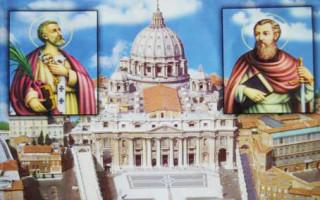Lễ Hai Thánh Tông Đồ Phêrô và Phaolô: HAI CỘT TRỤ CỦA GIÁO HỘI