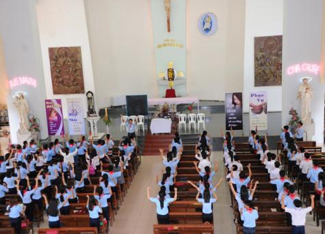Giáo xứ Dũng Lạc: Khóa Huấn luyện Giáo Lý Viên Cấp II Hạt Bà Rịa