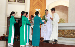 Giáo xứ Chánh Toà Bà Rịa:  Mừng Lễ Thánh Nữ Mônica, Bổn mạng Giới Hiền mẫu