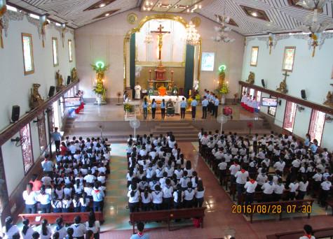 Giáo xứ Thủy Giang: Thánh Lễ Khai Giảng Năm Học Giáo Lý Mới 2016 - 2017