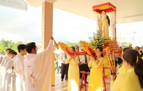 Tin Ảnh: Giáo Xứ Phước Bình: Mừng lễ Thánh Mônica, Bổn Mạng Giới Hiền Mẫu - Ngày 27.08.2016