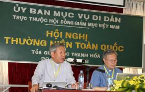 Biên bản Hội nghị Mục vụ Di dân Toàn quốc năm 2016
