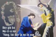 Cầu nguyện trước Thánh Thể: Ngày 02.10.2016 – Chúa nhật XXVII Thường niên- Kính trọng thể Đức Mẹ Mân Côi (Lc 1, 26-38)