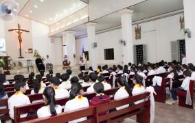 Giáo xứ Đất Đỏ: Khai Giảng Năm Học Giáo Lý 2016-2017