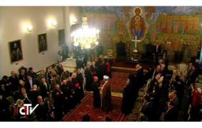 Đức Thánh Cha viếng thăm tòa Thượng Phụ Chính Thống Georgia