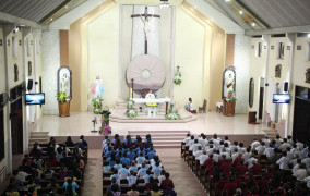 Tin ảnh: Giáo xứ Hữu Phước: Thánh lễ mừng kính Chúa Kitô Vua vũ trụ - Bổn mạng Giáo xứ