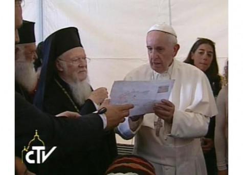 Đức Thánh Cha Phanxicô gửi sứ điệp mừng lễ Thánh Anrê đến Đức Thượng phụ Giáo chủ Constantinopolis
