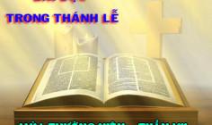 BẢN VĂN CÁC BÀI ĐỌC HẰNG NGÀY - TUẦN VII THƯỜNG NIÊN NĂM A