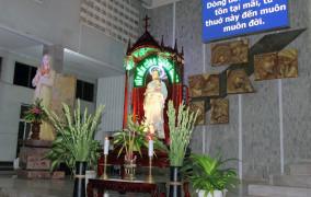 Giáo xứ Láng Cát: Mừng lễ kính Thánh Giuse- Bổn mạng Giới Gia trưởng Giáo xứ