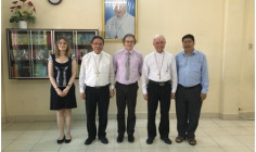 Phái đoàn Liên hiệp Đại học Công giáo Quốc tế thăm Học viện Công giáo Việt Nam