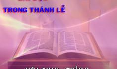 BẢN VĂN CÁC BÀI ĐỌC HẰNG NGÀY – TUẦN II MÙA CHAY NĂM A