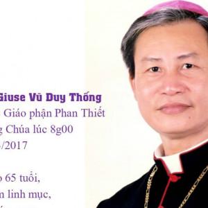 MÙA CỦA TÌNH THƯƠNG - Lễ đưa chân Đức cha Giuse Vũ duy Thống