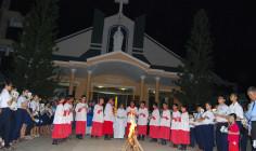Tin ảnh: Giáo xứ Thủ Lựu: Thánh lễ Vọng Phục Sinh 2017