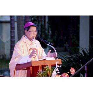 Bài giảng của Đức Cha Phêrô Nguyễn Văn Khảm trong Đại lễ Kính Lòng Chúa Thương Xót - 2017