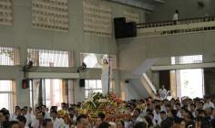 Giáo xứ Láng Cát:  Lễ Vọng  và Thánh lễ chính ngày Đại lễ Phục Sinh 2017