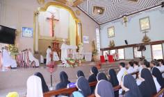 Giáo xứ Thủy Giang: Thánh lễ Tạ ơn mừng Kim khánh Linh mục Cha cố Giuse Vũ Văn Tân