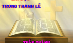 BẢN VĂN BÀI ĐỌC TUẦN THÁNH NĂM A - NĂM PHỤNG VỤ 2016 – 2017