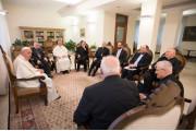 Hàng Giám mục châu Âu gặp Đức giáo hoàng Phanxicô