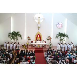 Giáo phận Bà Rịa: Thánh lễ mừng kính Đức Mẹ Fatima tại Đền Thánh Đức Mẹ Bãi Dâu