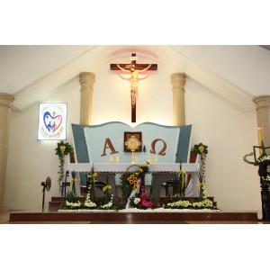 Tin ảnh: Giáo xứ Thiện Phước:  Thánh lễ khai mạc ngày Chầu Thánh Thể thay Giáo Phận