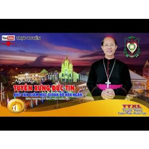 Trực Tuyến: Nghi thức Tuyên xưng Đức Tin của Đức Cha Tân Cử Gioan tại Đại Chủng Viện Thánh Giuse Xuân Lộc