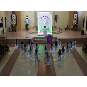 Tin ảnh: Giáo xứ Hữu Phước: Giới trẻ dâng hoa tôn kính Đức Mẹ
