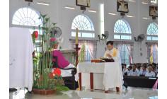 Cộng đoàn Giáo xứ Hòa Hội: Cha Gioan Baotixita Nguyễn Duy An, OFM về nhận sứ vụ chủ chăn