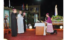 Giáo phận Xuân Lộc: Rước kiệu Đức Mẹ và nghi thức tuyên xưng Đức Tin của Đức Cha Tân Cử Gioan