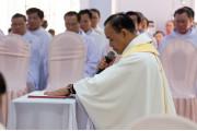 Giáo xứ Kim Long:  Mừng đón vị mục tử mới: Linh mục Giuse Trần Quốc Dân