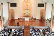 Giáo xứ Long Điền: Thánh lễ khai mạc ngày Chầu Thánh Thể thay Giáo phận