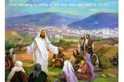CÁC BÀI SUY NIỆM LỜI CHÚA  CHÚA NHẬT XII THƯỜNG NIÊN   – NĂM A
