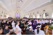 Giáo xứ Phước Bình: Thánh lễ an táng Bà cố Maria Trần Thị Lụa (thân mẫu Thầy Phó tế Micae Huỳnh Văn Phú)