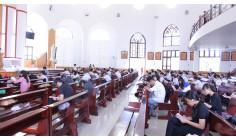 Giới trẻ Huynh Đoàn Đaminh giáo dân Giáo Phận Bà Rịa: Giao lưu và thi cấp Liên huynhnăm 2017