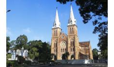 Nhà thờ Chánh Tòa Đức Bà Sài Gòn: Bắt đầu tiến hành sửa chữa mái ngói và hai tháp nhọn