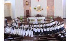 Giáo xứ Chánh Tòa Bà Rịa: Thánh lễ tuyên hứa Bao Đồng của 106 em lớp Vào Đời trong giáo xứ
