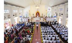 Giáo xứ Thủ Lựu: Thánh lễ tạ ơn của Tân Linh mục Tôma Nguyễn Xuân Bắc