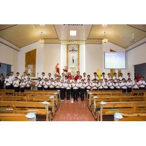 Tin ảnh: Giáo xứ Bình Ba: Thánh lễ ban Bí tích Thêm sức
