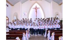 Giáo họ biệt lập Phước Hải: Thánh lễ ban Bí tích Thêm sức cho 74 em thiếu nhi