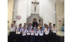Giáo xứ Tân Phước: Trao quà khuyến học cho thiếu nhi có hoàn cảnh đặc biệt