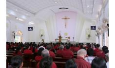 Giáo xứ Long Kiên: Thánh lễ kính Lòng Chúa Thương Xót Hạt Bà Rịa tháng 8.2017