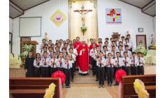Giáo họ Biệt lập Đức Mẹ Vô Nhiễm: Thánh lễ ban Bí tích Thêm sức