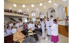 Tin ảnh: Giáo xứ Long Hương: Thánh lễ mừng kính Đức Mẹ sầu bi- Cầu nguyện cho các bệnh nhân