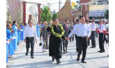 Giáo xứ Long Điền: Đón chào Cha Tân Chánh xứ Giuse Nguyễn Đình Hà