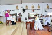 Giáo họ Biệt lập Long Tân: Đón mừng Cha Phụ trách tiên khởi Phaolô Chu Đăng Khải