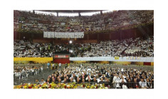 Đức Thánh Cha gặp gỡ các linh mục, tu sĩ, chủng sinh Colombia