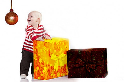 christmas-baby-boy-gift-box-standing-22053779